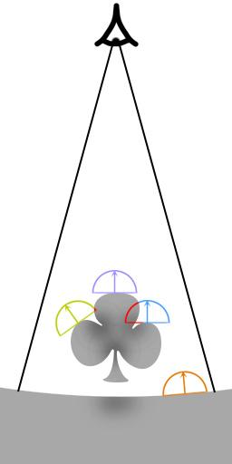 ao-sample   Screen space ambient occlusion с учетом нормалей и расчет одного отражения света.