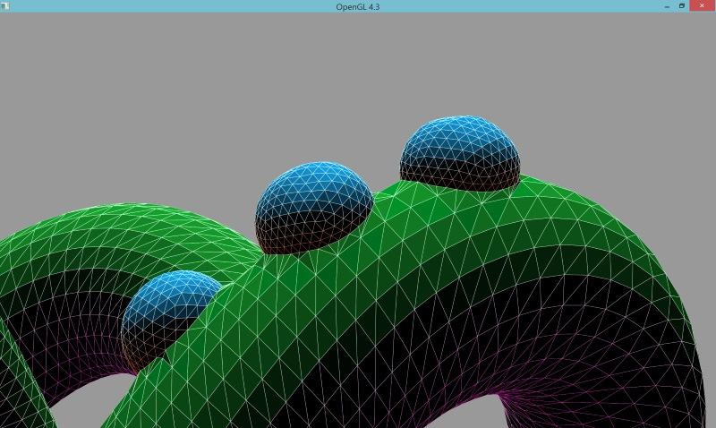 3 | Вставка одной поверхности в другую (многопоточный алгоритм)