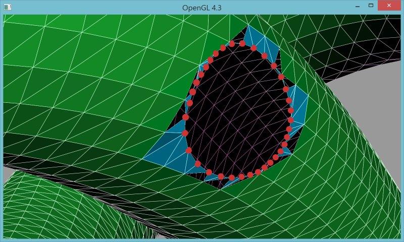 6 | Вставка одной поверхности в другую (многопоточный алгоритм)