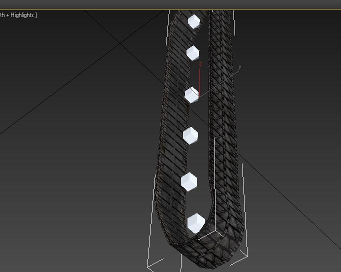 Снимок2 | Наложение текстуры на гусеницу 3dsMax