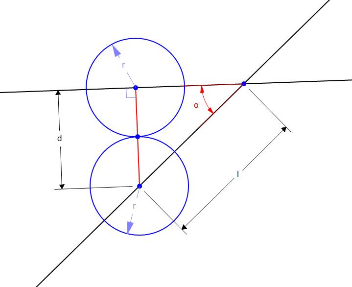 r | Пересечение движущихся сфер