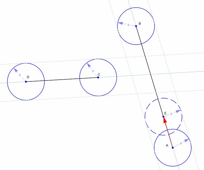 balls | Пересечение движущихся сфер