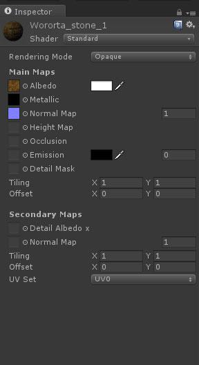 5   Муки PBR материала в Unity, или как правильно подключать текстуры из Substance Designer