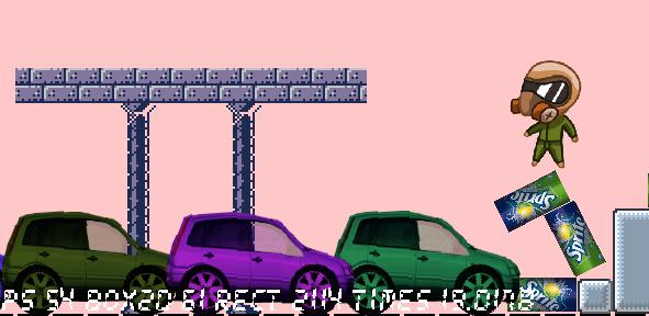 car1   Смена ориентации сложного тела. Движение вправо и влево
