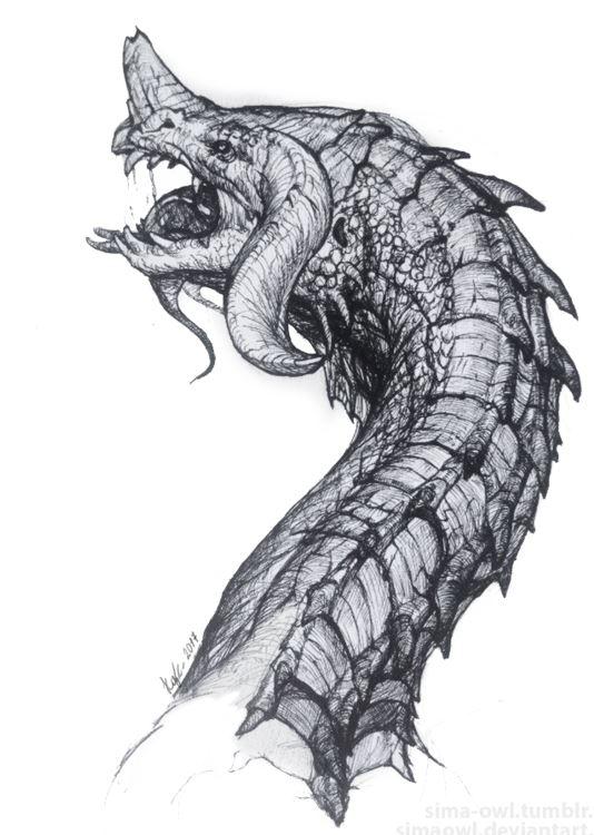 голова дракона | Конкурс концепт-арта от студии Allods Team