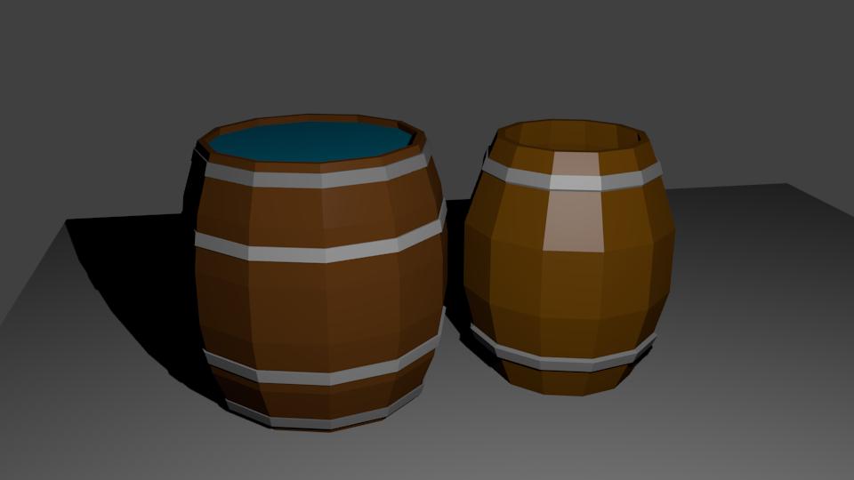 Bochki   Простые модельки из нескольких кубиков