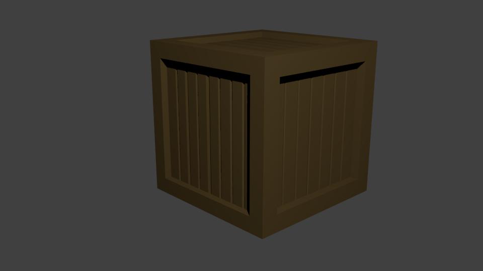 ящик   Простые модельки из нескольких кубиков