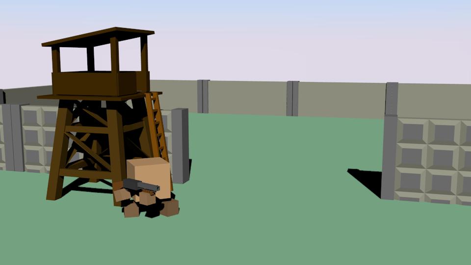 база   Простые модельки из нескольких кубиков