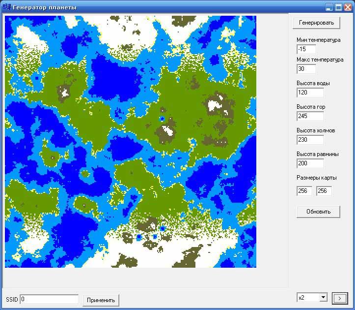 Генератор планеты | Скриншотный субботник