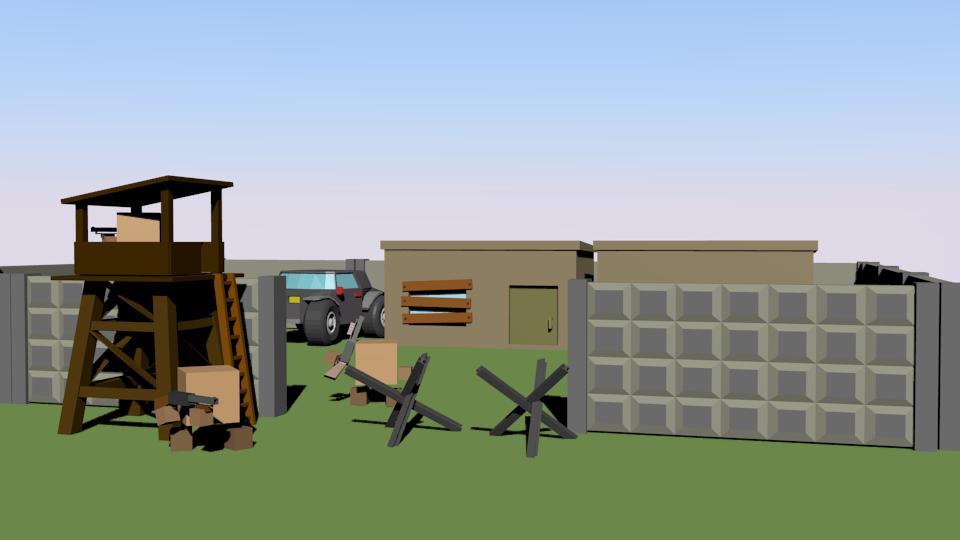 1 | Простые модельки из нескольких кубиков
