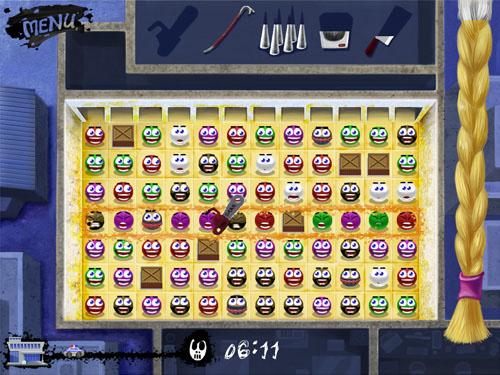 game | «Маньяк3: Игра на вылетание». Для конкурса казуалок