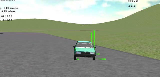 car sim   Пишем симулятор гонок