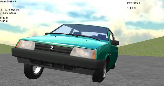 car_sim1   Пишем симулятор гонок