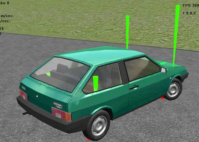 car_sim2   Пишем симулятор гонок