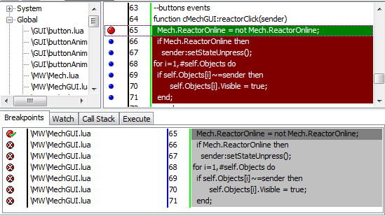 breakpoints | Пишем отладчик для Lua 5.1
