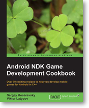 Android NDK Game Development Cookbook | Анонсирована книга Android NDK Game Development Cookbook