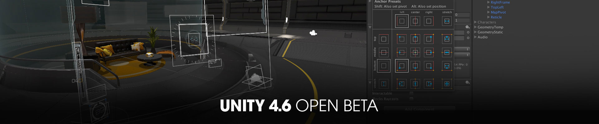 Unity4.6 Open Beta | Открытая бета Unity 4.6 доступна для скачивания