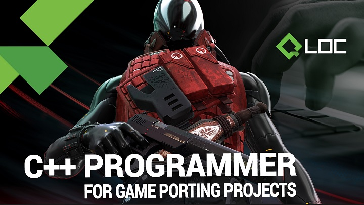 CPP_Programmer | C++ programmer for video game porting projects — QLOC, Warsaw