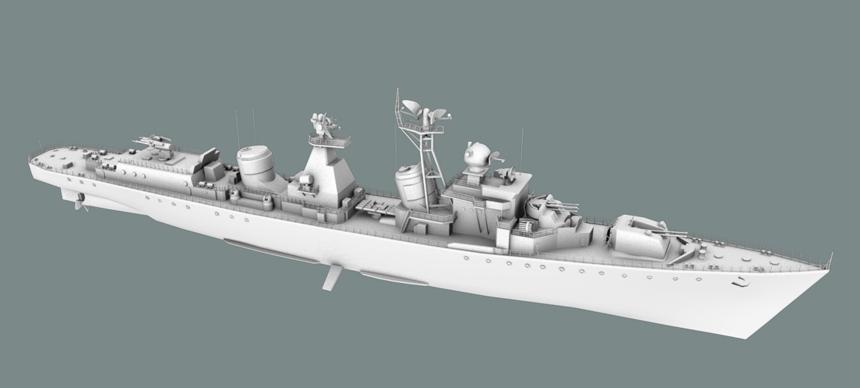 Destroyer01   Модели KaDmiy-я