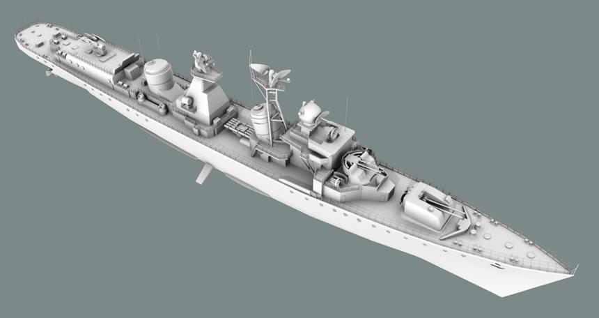 Destroyer02   Модели KaDmiy-я