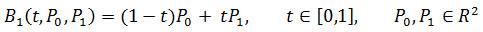 f_01_linear_bezier | Редактор функций на основе кривых Безье