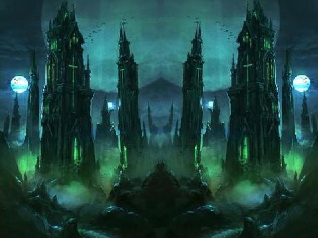 Green Warlock Tower | konst_cs  art