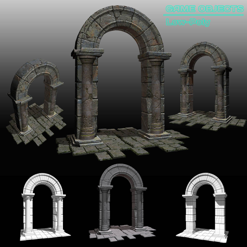 Arch Portal | 3d Artist - локации, окружение и объекты.