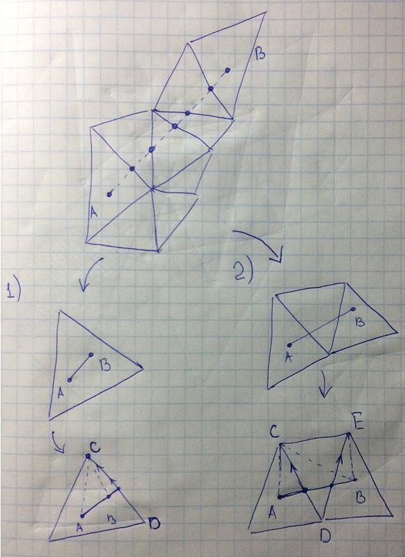 13 | Вставка одной поверхности в другую (многопоточный алгоритм)