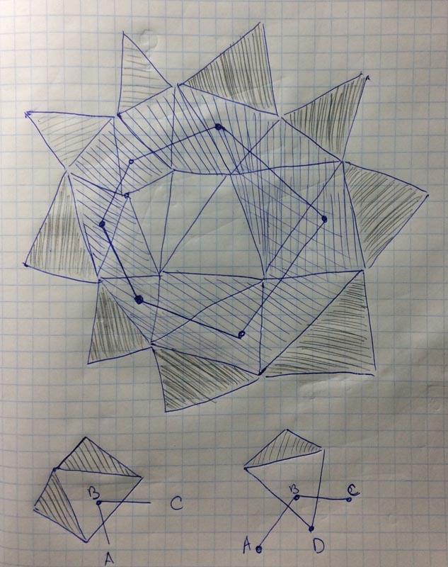 15 | Вставка одной поверхности в другую (многопоточный алгоритм)