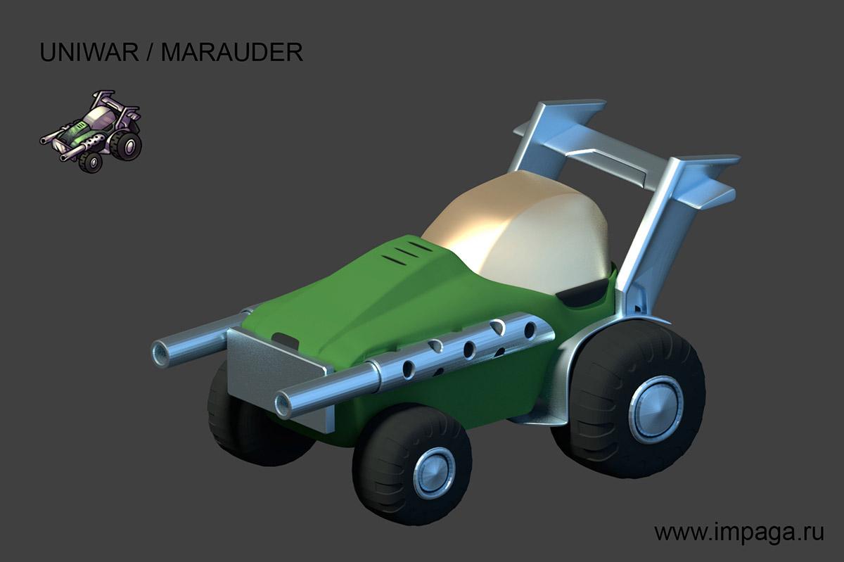 Uniwar / Marauder | Uniwar в 3D