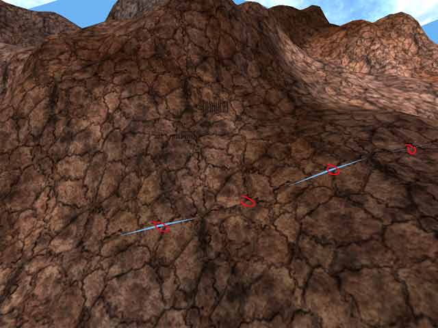 Крэки на ландшафте (Texture) | Решение проблемы разрывов при визуализации ландшафтов с LOD - уровнями
