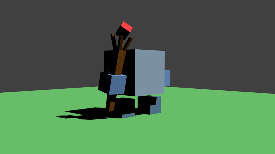 Mag | Простые модельки из нескольких кубиков