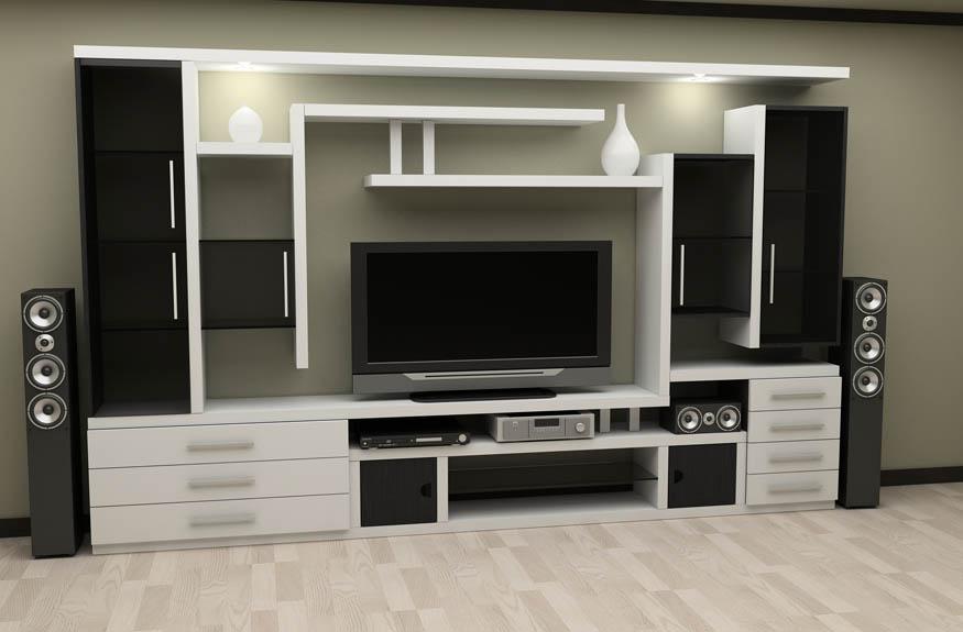 Мебель для дома. угловые стенки в зал