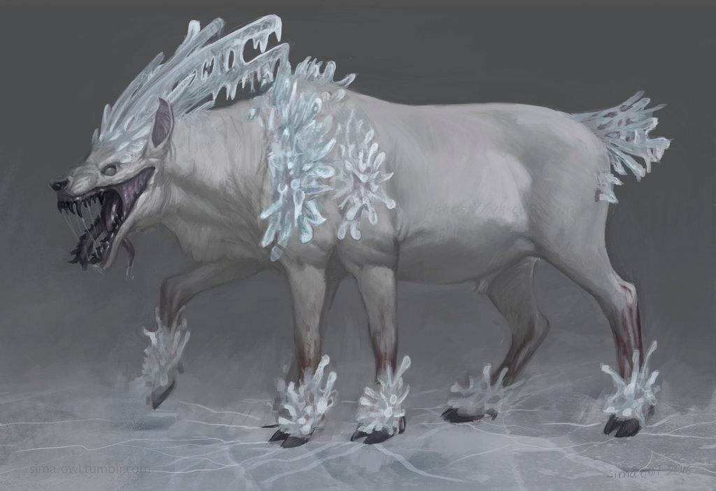 подарок для другого художника(его персонаж) | Конкурс концепт-арта от студии Allods Team