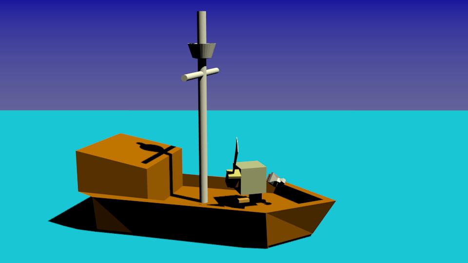 pirat na korable | Простые модельки из нескольких кубиков