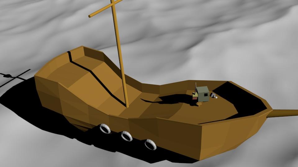 pirat na korable2 | Простые модельки из нескольких кубиков