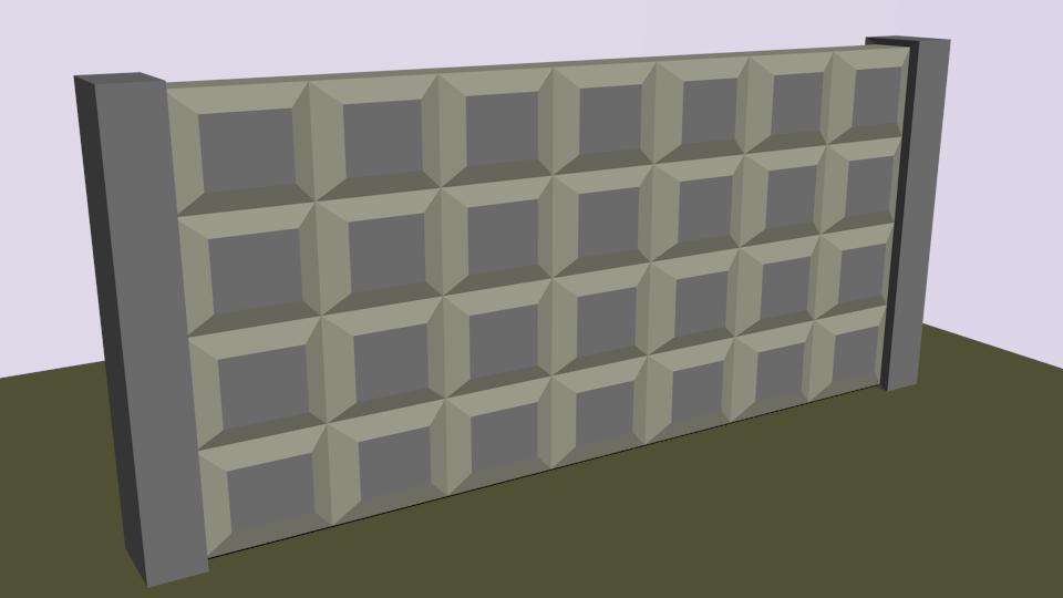 плита   Простые модельки из нескольких кубиков