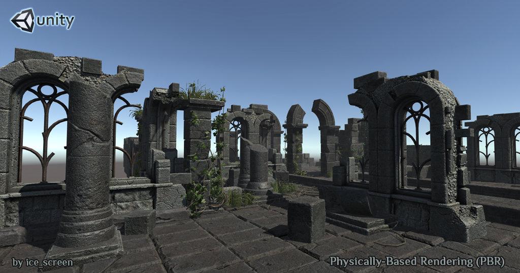 Ruin_sm2 | 3d Artist - локации, окружение и объекты.