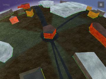 Streets - редактор уровней, ранняя версия
