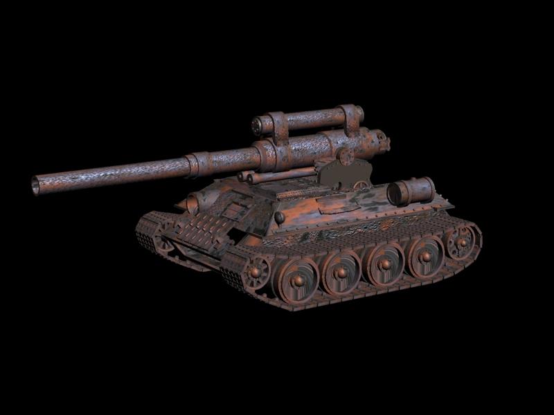 sau | Модели Forpost D6 (для заценилок)