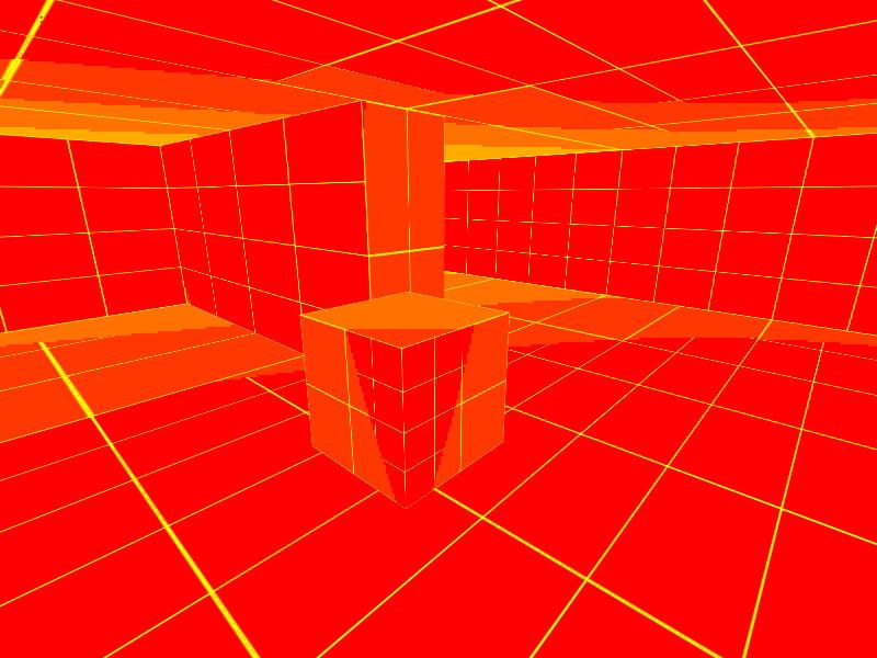 Virtual texture (show mips) | Виртуальные текстуры