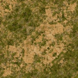 smoothedselectblend | Пример смешивания текстур ландшафта в Titan Quest.