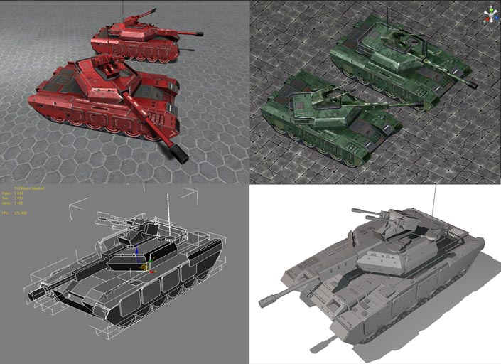 Tank_demo1 | 3d Artist - локации, окружение и объекты.