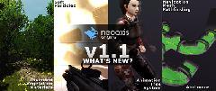 Игровой движок NeoAxis обновился до версии 1.1