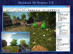 Анонсирован NeoAxis 3D Engine 2.0. Теперь с бесплатной редакцией