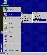 Фото в меню «Пуск» под Windows'98