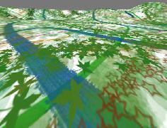 Использование мегатекстур (megatexture, clipmaps).