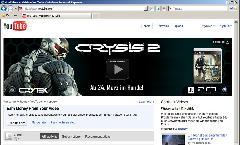 Crysis 2 на Youtube