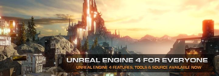 Unreal Engine 4 для всех | Epic радикально изменила модель лицензирования Unreal Engine.